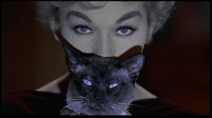 Kim Novak and Piewacket