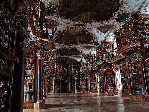 swiss abbey library