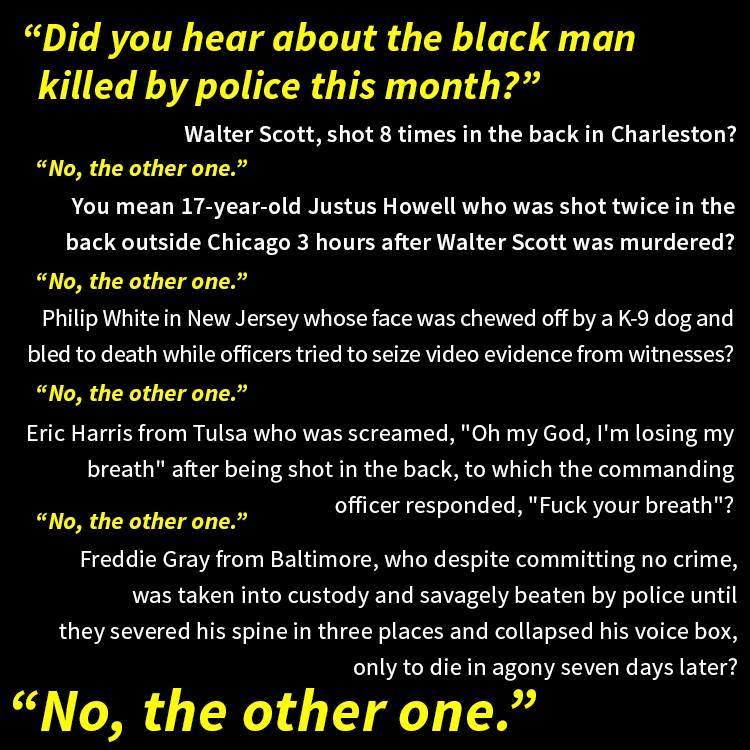black lives matter - stats